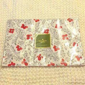 Brand New Kate Spade Place Mats  Floral Blockprint